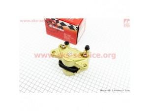 Суппорт тормозной однопоршневой ТЮНИНГ тип №1, золотистый