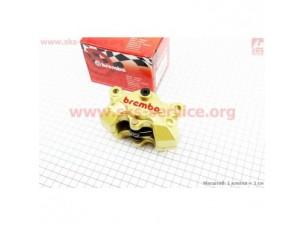 Суппорт тормозной однопоршневой ТЮНИНГ тип №2, золотистый