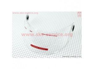 Стекло для шлема FF105 прозрачное
