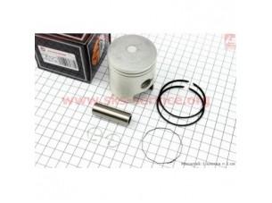 Поршень, кольца, палец к-кт Suzuki AD110 52,5мм +0,50 (палец 14мм)