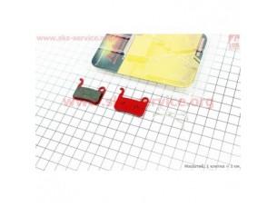 Тормозные колодки диск. тормоз к-кт (Shimano LX BR-M655,765,775, XT BR-755,965,966,975, XTR M965/966, Saint M800)