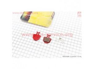 Тормозные колодки диск. тормоз к-кт (Formula Oro Hydraulic)