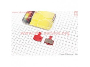 Тормозные колодки диск. тормоз к-кт (Magura MT Series 2,4,6,8)
