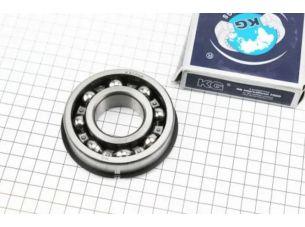 Подшипник 50307 (6307 NR) (35x80x21) с канавкой под стопорное кольцо в комплекте со стопорным кольцом, ИНДИЯ