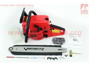 """Бензопила Viper 5200 52cc (3,1кВт. шина 18""""), в коробке по 2шт. ЦЕНА ЗА 1ШТ!!!"""