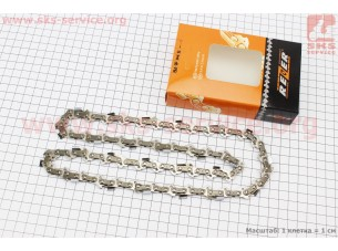 "Цепь 3/8""-1,3mm-50зв. квад. зуб (на Stihl-180-14""), упаковка REZER, отличное качество"