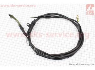 C01 Трос газа 2Т (ременной вариатор)