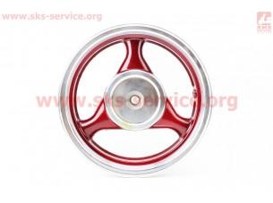 D08 Диск литой задний (бараб. торм. для 150сс)  MT3,5x13, красный