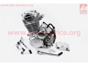 Двигатель мотоциклетный в сборе CB-200cc (на Viper-125J)