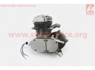 Двигатель велосипедный 2Т, СЕРЫЙ