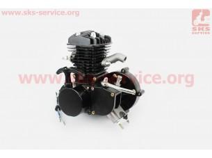 Двигатель велосипедный 2Т с ручным стартером, ЧЕРНЫЙ
