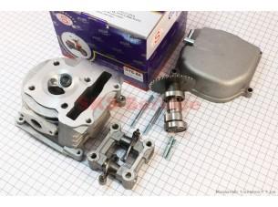 Головка цилиндра+клапана+пастель+распредвал+кр. клапанов 47мм-80cc