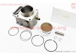 CB250-OHC Цилиндр к-кт (цпг) 250cc - 69мм - водяное охлаждение (палец ??мм)