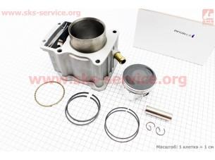 CG250-OHV Цилиндр к-кт (цпг) 250cc - 67мм - водяное охлаждение (палец 16мм)