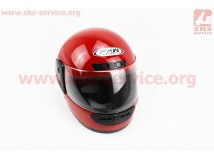 Шлем закрытый HF-101 M- КРАСНЫЙ