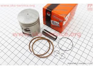 Поршень, кольца, палец к-кт Suzuki GS50 41мм STD, CMR (Тайвань) (палец 10мм)
