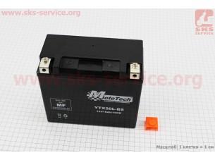 Аккумулятор 18Аh YTX20L-BS(гелевый) 170/82/155мм, 2018
