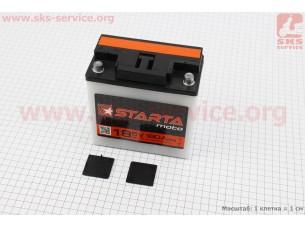 "Аккумулятор 6V/18Аh, (кислотный, сухой, круглая клема) 140/75/140мм, МТ,ИЖ, ""STARTA"", 2018"