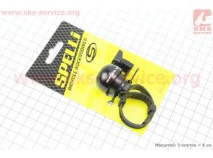 Звонок механический, крепл. на хомуте, черный SBL-709