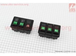 Блок переключателей к-кт DongFeng 240/244